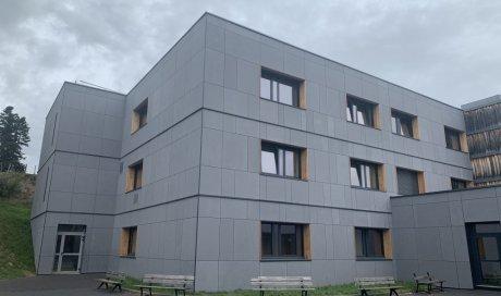 Réalisation d'une isolation par l'extérieur à  Saint-germain-l'herm