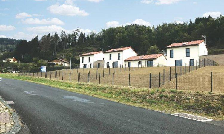 Construction de5 logements à Vertolaye
