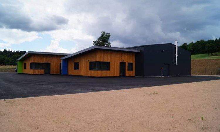 Construction degîte d'entreprise à Dore-l'Église